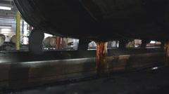 Emptying Bourbon Barrel - stock footage