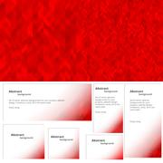 Abstract background red banner Stock Illustration