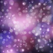 Abstract background purple bokeh - stock illustration