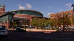 Nationwide Arena Columbus Ohio Stock Footage