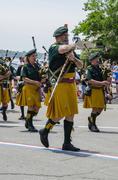 Marching band drum major Kuvituskuvat