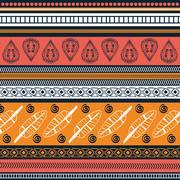 Bohemio design. Spirit  concept. Flat illustration , vector - stock illustration