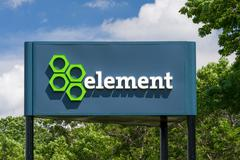 Element Fleet Management Headquarters and Sign Stock Photos