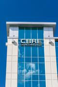 CBRE Group Offices - stock photo