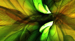 Traveling down a tunnel of fractal light - Tunnel Vision 115 HD, 4K Stock Footage