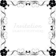 Vector decorative frames - stock illustration