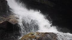 Waterfall In Western North Carolina Stock Footage