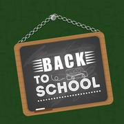 Back to school design. Study icon. Draw illustration , vector Stock Illustration