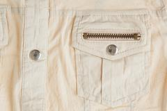 shirt flap patch-pocket - stock photo