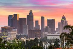 Los Angeles Skyline Kuvituskuvat