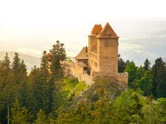Kasperk castle in Southern Bohemia - stock photo