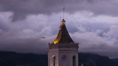 Cuenca. Ecuador. Day in night 4k time lapse - stock footage