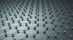 Hexagonal Pattern Background Stock Footage