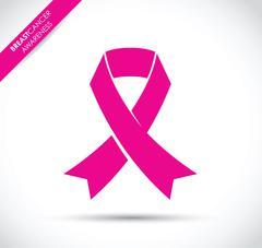 Breast cancer awareness ribbon Piirros
