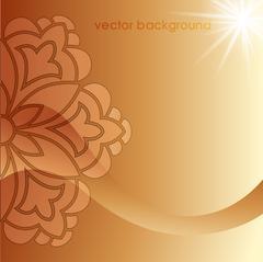decorative cover template - stock illustration