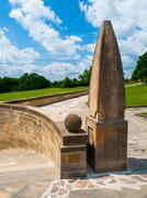 World War Memorial in Lidice Stock Photos