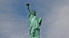 Lady Liberty Statue of Liberty - stock footage
