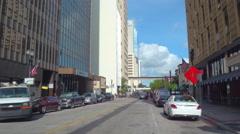Stock video Downtown Miami city scene Stock Footage