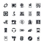 Electronics Vector Icons Stock Illustration