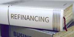 Book Title of Refinancing - stock illustration