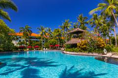 Nusa Dua resort in Bali Indonesia Stock Photos