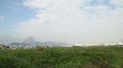 Airplane Landing in Rio de janeiro- Brazil Stock Footage