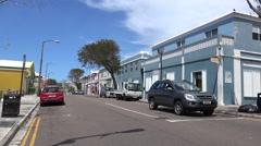 Types of Hamilton city, Bermuda. Stock Footage