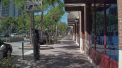 Shops at Midtown Miami Stock Footage