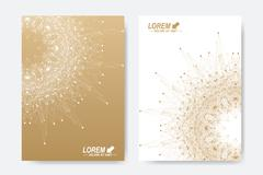 Modern vector template for brochure, Leaflet, flyer, cover, magazine or annual Stock Illustration