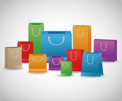 Shopping design. Shopping bag icon. sale concept Stock Illustration