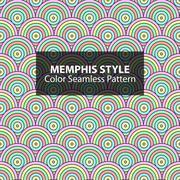 Abstract seamless vibrant pattern. - stock illustration