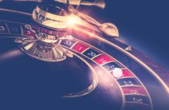 Casino Roulette Game. Casino Gambling Concept 3D Render Illustration. Piirros