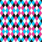 Colorful ornamental pattern - seamless. Stock Illustration