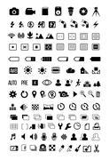 Camera mode Icons Stock Illustration