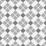 Striped geometric pattern - seamless. Stock Illustration
