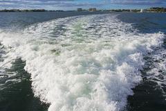 Boat Wake Kuvituskuvat