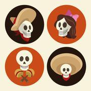 Mexican culture design , vector illustration Stock Illustration