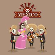 Mexican culture design , vector illustration - stock illustration