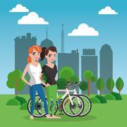 Healthy lifestyle design  , vector - stock illustration