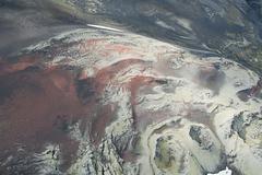 Iceland, red lava north of hekla volcano Kuvituskuvat