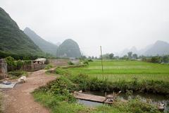 China, guangxi province, yangshuo - stock photo