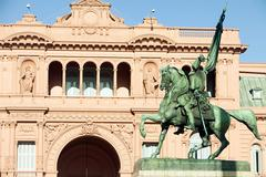 Casa Rosada, Buenos Aires, Argentina Stock Photos