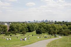 Primrose hill london - stock photo