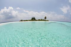 Mathidhoo Island, North Huvadhu Atoll, Maldives - stock photo