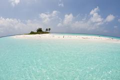 Mathidhoo Island, North Huvadhu Atoll, Maldives - stock photo