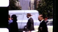 Melbourne Australia City Street Scene 1970s Vintage Film Retro Home Movie 9398 Stock Footage