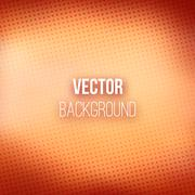 Brown Blurred Background With Halftone Effect - stock illustration