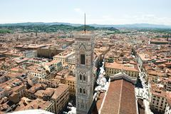 Campanile of Santa Maria del Fiore, Florence, Italy - stock photo