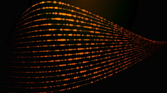 Glowing and twisted lines 4K abstract background Stock Footage