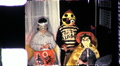 KIDS Trick or Treat Children in Halloween 1960s Vintage Film Home Movie 9462 Footage